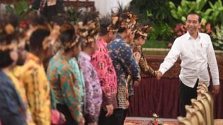 Pertemuan Jokowi dan tokoh Papua
