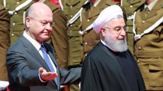 زيارة حسن روحاني: العراق بين خصمين لدودين يتصارعان داخل حدوده