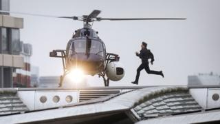 Tom Cruise filming Mission: Impossible - Fallout in London