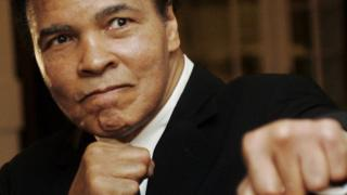 US boxing great Muhammad Ali (2008)