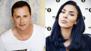 Scott Mills and Maya Jama