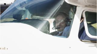 WW2 pilot takes to the skies aged 96