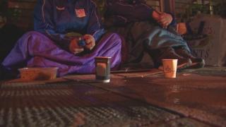 homeless people in Edinburgh