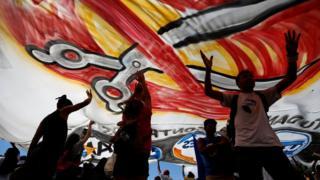 Protesto em Brasília contra cortes de gastos na educação