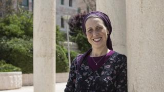 Dr Naomi Marmon Grumet is the founder of the Eden Center in Jerusalem, a charity which trains mikveh attendants to be aware of breast cancer (Photo by Heidi Levine for The BBC).