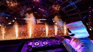 DJ Marshmellow performing at Coachella 2017