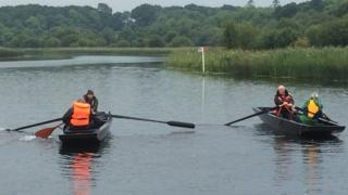 The boats will take part in a race at the Crom Estate on Saturday