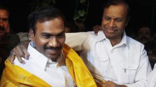 ஆ ராசா மற்றும் டி ஆர் பாலு கோப்புப்படம்