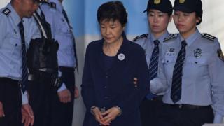Güney Kore'nin eski Devlet Başkanı Park Geun-hye
