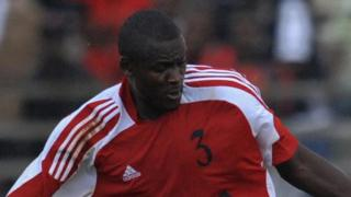 Kenyan footballer George Owino