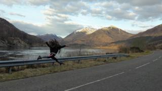 Ballet beside Loch Creran, Argyll