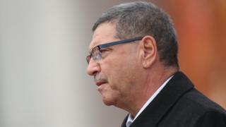 Le Premier ministre tunisien, Habib Essid à Berlin, le 5 novembre 2015