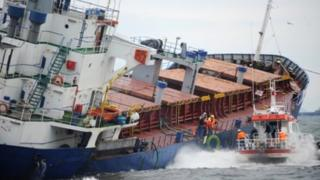 Qara dənizdə gəmi batıb