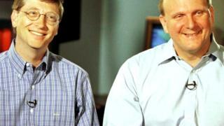 Билл Гейтс и Стив Балмер