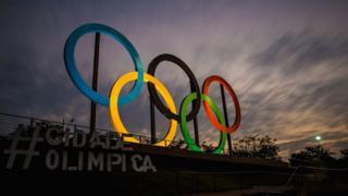 Символ Олимпийских игр в Рио-де-Жанейро