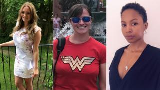 Emilie Thomas, Fiona McAra, Pauline Nicholas