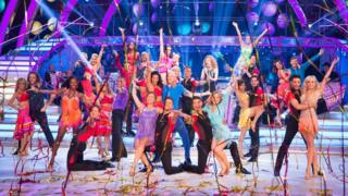 The Strictly Come Dancing 2015 members