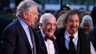 Robert De Niro, Martin Scorsese and Al Pacino