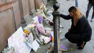 Memorial para las víctimas de Manchester
