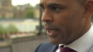 Bristol mayor, Marvin Rees (Labour)