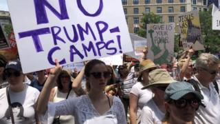 Hoa Kỳ, biểu tình, Trump, nhập cư