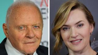 Sir Anthony Hopkins and Kate Winslet