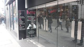 Oxford St HMV on Tuesday Feb 5