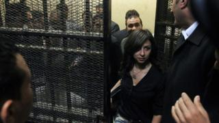 One of the 14 Egyptians who went on trial in 2012 on charges of receiving illicit foreign funds to operate unlicensed NGOs.
