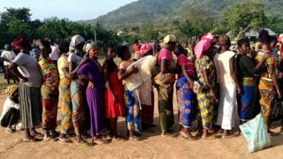 Des milliers de personnes ont quitté les régions anglophones du Cameroun à cause des tensions.
