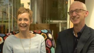 David Pike and Karin Sode