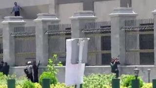 Tiroteo en el Parlamento de Teherán