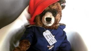 Paddington Bear toy