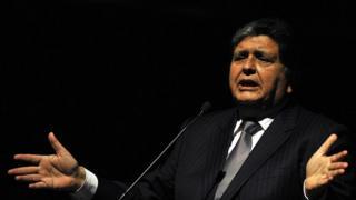 L'ancien président du Pérou, Alan García