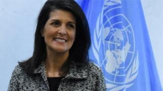 ABŞ-ın Birləşmiş Millətlər Təşkilatındakı nümayəndəsi Nikki Haley