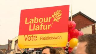 Welsh Labour banner