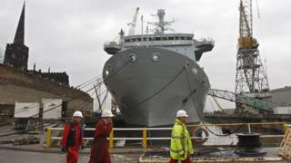 Workers at Cammell Laird