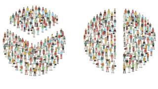 Društvene podele, ilustracija