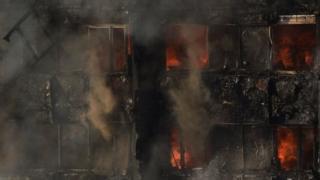 อาคารเกรนเฟลล์ ทาวเวอร์ที่เกิดเพลิงไหม้