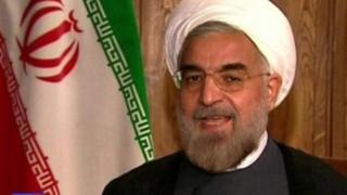 Rais wa Iran Hassan Rouhani asema magaidi wanasherehekea shambulio la Syria