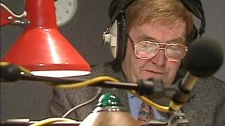 The late David Dunseith presented Talkback for 20 out of its 30 years,