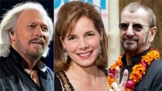 Barry Gibb, Darcey Bussell, Ringo Starr