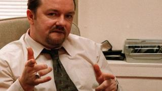 Ricky Gervais di The Office UK