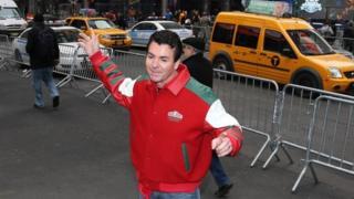 Papa John's founder John Schnatter in New York