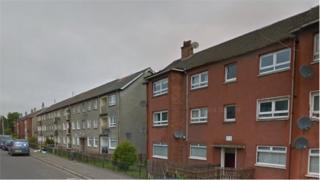 Flats in Skye Road, Cathkin