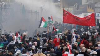 بیروت، اسرائیل، امریکہ،مظاہرہ