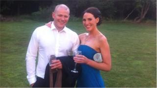 Peter Walton (left) and Judith Garrett (right)