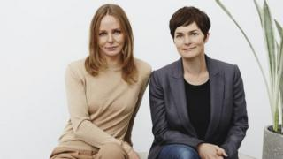 Stella McCartney and Ellen MacArthur