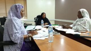 Daga dama: Hajiya Bilkisu Salisu Ahmad, Malama Bilkisu Yusuf Ali, da Dokta Aliya Adamu Ahmad