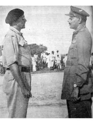 جنرل العیدروس اور جنرل چودھری، حیدرآباد، انڈیا