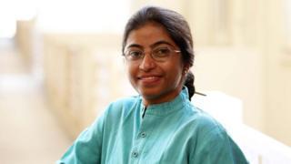 A ativista Sunitha Krishnan